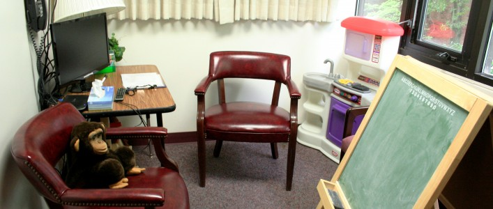 Counseling and Educational Development room in Curry Building