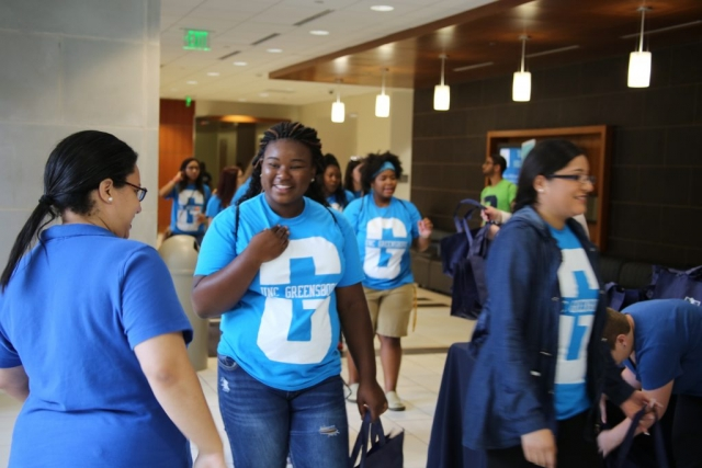 New students are welcomed to the School of Education