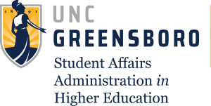 UNC Greensboro Student Affairs Administration in Higher Education logo