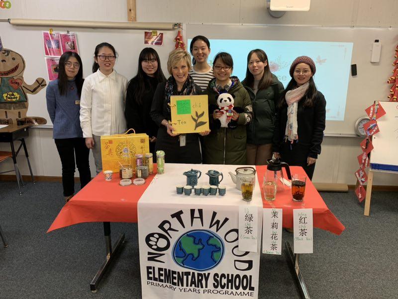 Shanghai Visitors at Northwood Elementary