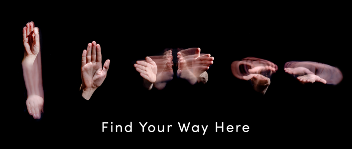 ASL for Find Your Way Here