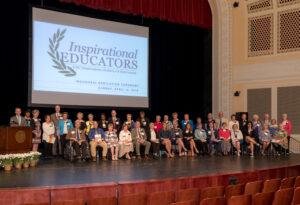 2019 Inspirational Educators Ceremony