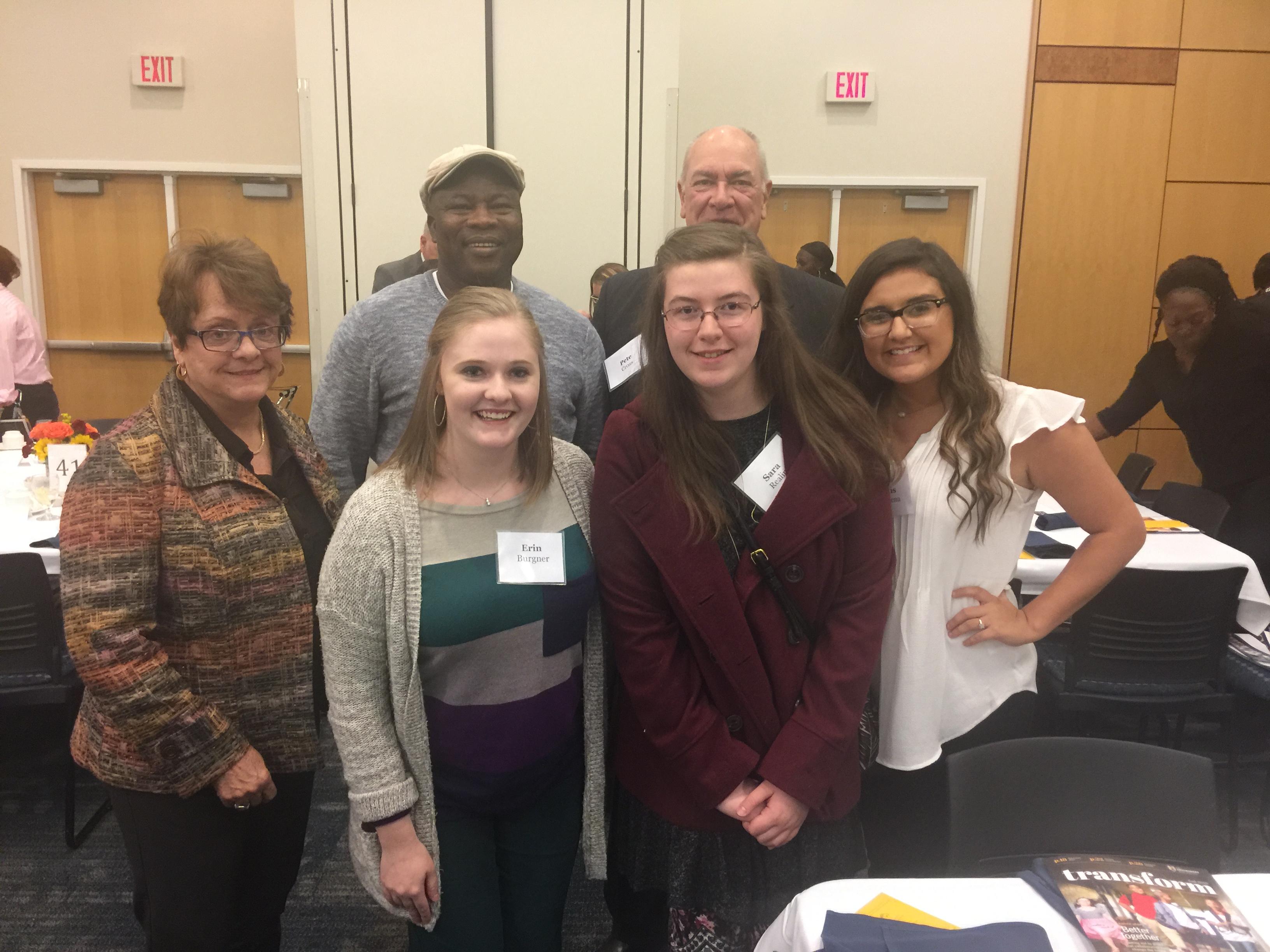 Cross Scholarship recipients