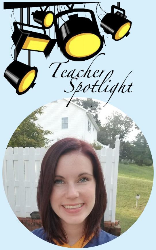 Nicole Gardner Rockingham Teacher of the Year