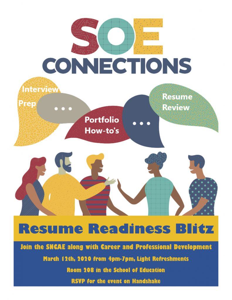 soe connections resume flyer