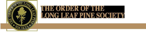 Order of the Long Leaf Pine Logo