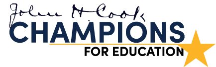 John H. Cook Champions for Education