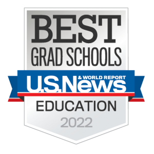 US News World Report 2022 Best Grad School Education Badge