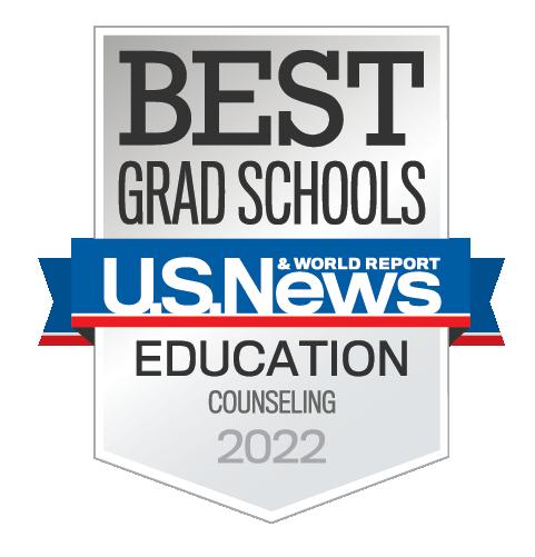 Best Grad Schools badge from U.S. News & World Report